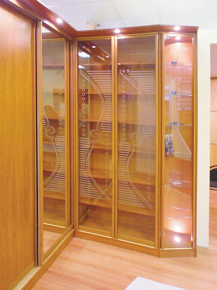 Библиотека -двери-купе салон мебели экрас.